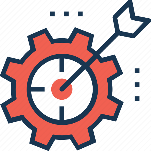 bullseye, management, marketing, objective, rd, seo, target icon