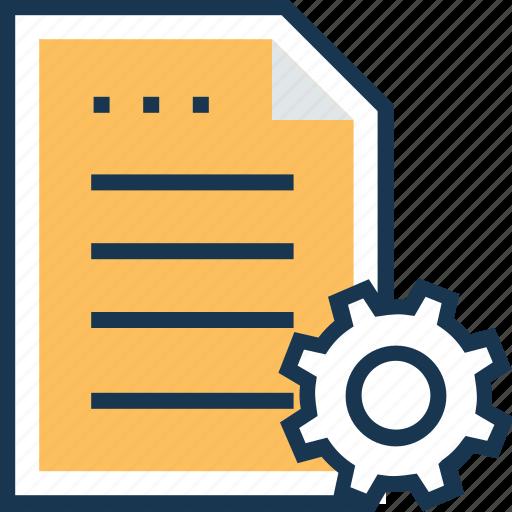 documents, file, file settings, perfencers, setup icon