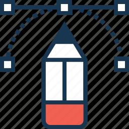 creative design, creativity, graphic, pencil, photoshop icon