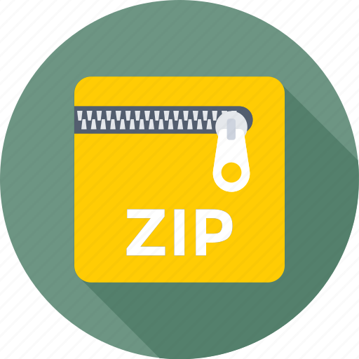 archived, compresses, file format, file type, zip file icon