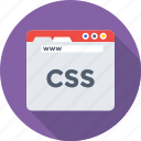 coding, css, development, programming, web icon