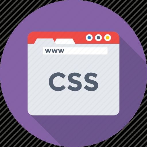 coding, css, development, programming, web icon