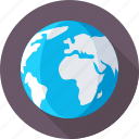globe, international, map, planet, worldwide icon