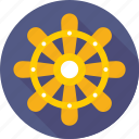 boat wheel, marine, ship wheel, steering, wheel icon