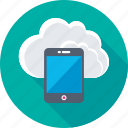 cloud, cloud computing, cloud drive, icloud, mobile icon