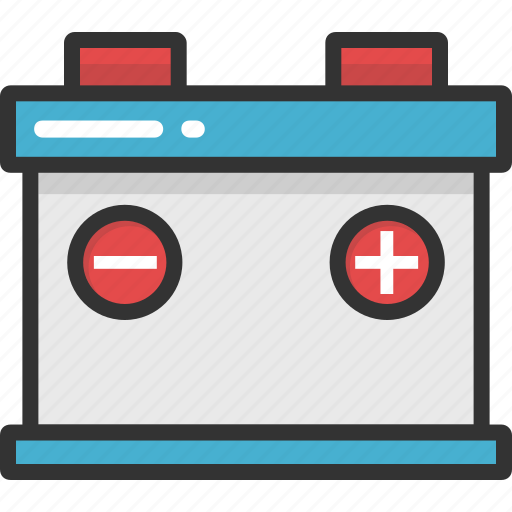 auto battery, automobile battery, car battery, interstate battery, vehicle battery icon
