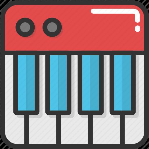clavichord, music, musical instrument, piano, pianoforte icon