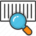 barcode lookup, barcode reader, barcode searching, scanning barcode, upc searching icon