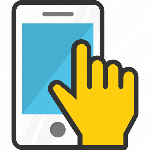 cell phone, mobile, mobile usage, smartphone, telephone icon