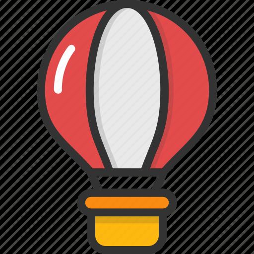 air balloon, airplay, fly, hot air balloon, travel icon
