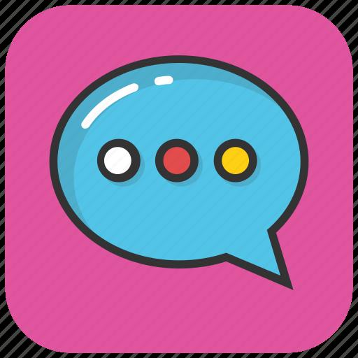 bubble, chat, chit chat, conversation, talk icon