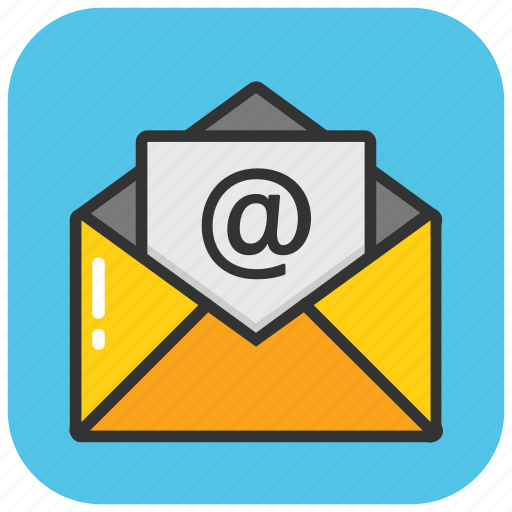 email, email message, inbox, newsletter, online correspondence icon