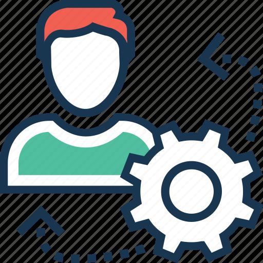 cog, efficiency, maintenance, personal efficiency, preferences icon
