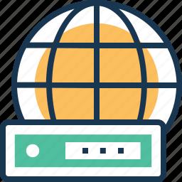 data, global data, password, privacy, worldwide icon