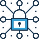 network, network protection, network security, protection, web protection icon