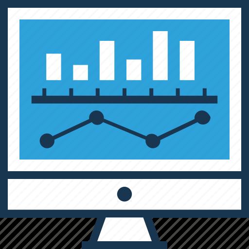 bar chart, bar graph, data analysis, market analysis, seo icon