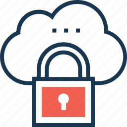 cloud computing, cloud protection, cloud security, icloud, lock icon