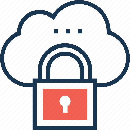 cloud computing, cloud protection, cloud security, icloud, lock icon