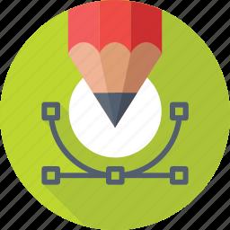 artwork, designing, drawing, illustration, pen tool icon