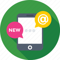 api, arroba, mobile, mobile development, programing icon