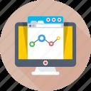 analytics, monitor, online graph, statistics, trending
