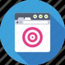 aim, goal, marketing, seo, target