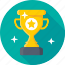 achievement, award, top rank, trophy, winner icon