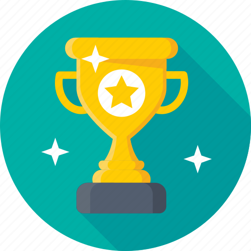 achievement, award, top rank, trophy, winner icon