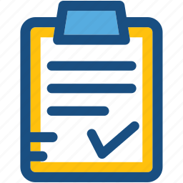 board, clipboard, document, form, questionnaire icon