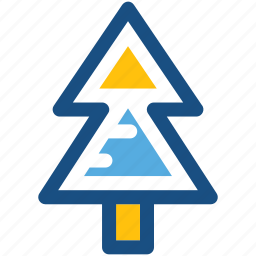 christmas tree, fir tree, nature, pine tree, tree icon