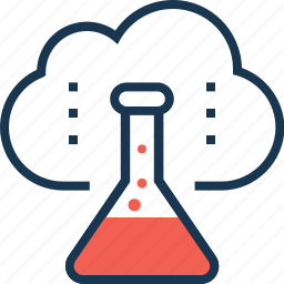 cloud, cloudsearch, flask, lab, search icon
