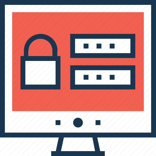 lock, padlock, protection, secure login, web icon