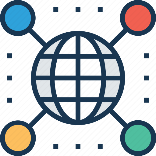 connection, global, global connection, globe, map icon