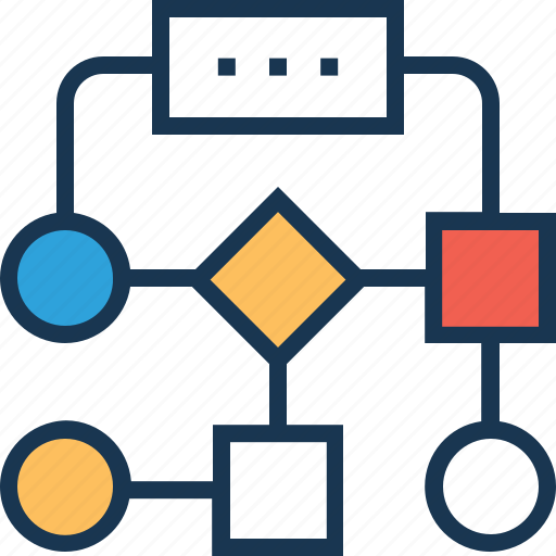 hierarchy, management, organization, sitemap, structure icon