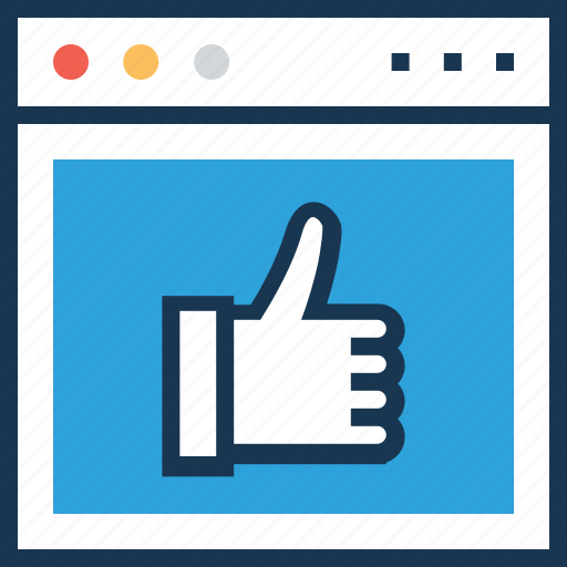 comment, feedback, like, social media, thumbs up icon