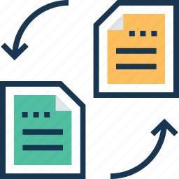 content sharing, exchange, file, file exchange, share icon