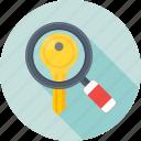 seo, magnifier, search keyword, keyword, search engine