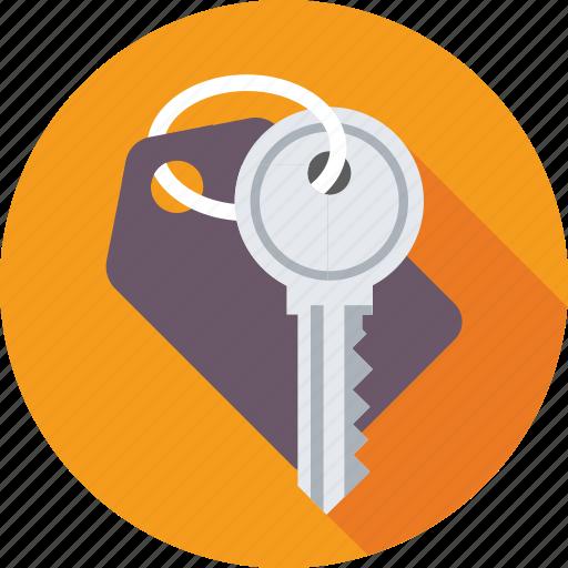 key, key chain, lock key, safety, security icon
