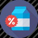 discount, product, carton, percent, promotion
