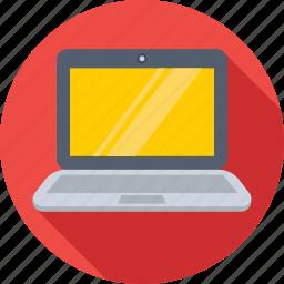 laptop, laptop pc, macbook, notebook, technology icon