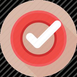 check mark, checklist, complete, done, tick icon