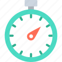 chronometer, time counter, timekeeper, timepiece icon