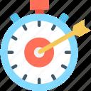 aim, bullseye, optimization, target icon