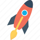 launch, missile, rocket, seo startup icon