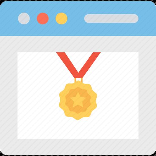 medal, ranking, star, star medal icon