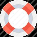life belt, life buoy, life donut, life ring icon