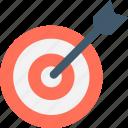 bullseye, dartboard, focus, target icon