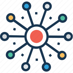 affiliate marketing, community, global, network, team icon