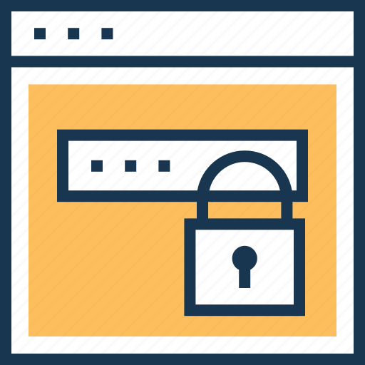 lock, login, protection, secure, security icon