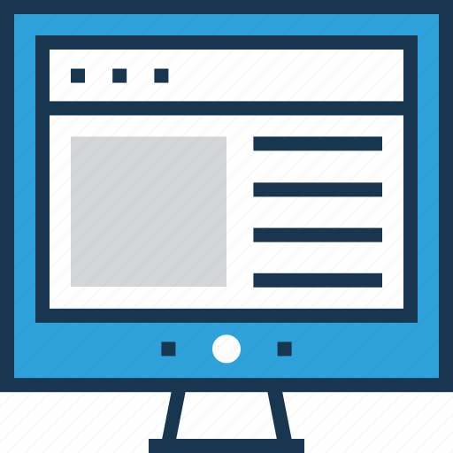 content, design, graphic, web, web design icon